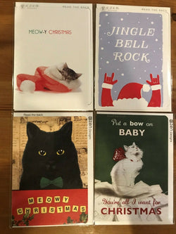Whimsical British Christmas cards (Set of 8) - CC106