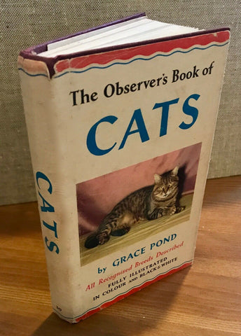 The Observer's Book  of Cats 1965 ID:02