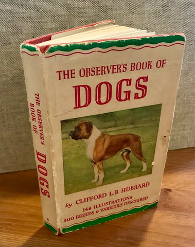 The Observer's Book  of Dogs 1961 ID:02