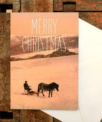 Beautiful imported Danish Christmas card - CC105
