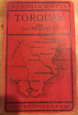 Ward Lock Red Travel Guide - Torquay and South Devon - c. 1937 - 14th ed TR:101
