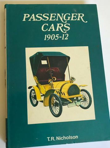 Passenger cars 1905-1912, (Cars of the world in colour) UK-1