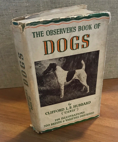 The Observer's Book  of Dogs 1948 ID:03