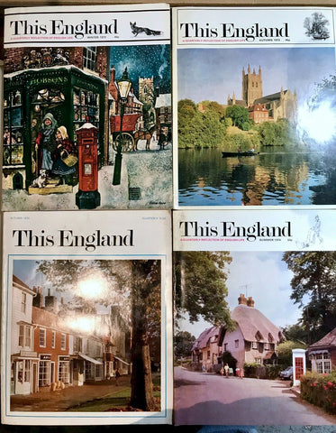"Lot of vintage ""This England"" magazines, 4 issues"
