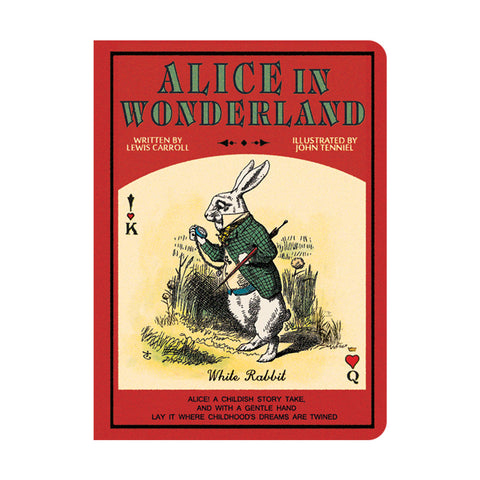 Stitch Notebook - Alice in Wonderland - Vintage Galore - Grid Note - S - AL7387
