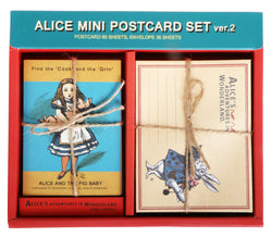 Mini Postcards Ver.2 - Alice in Wonderland AL8902