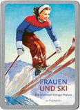 FRAUEN UND SKI - WOMEN AND SKI Postcards