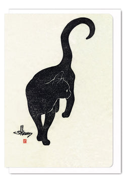 BLACK CAT CARD