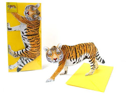 Fun 3D Tiger card
