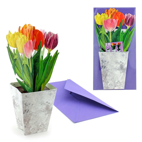 Fun 3D Tulip card