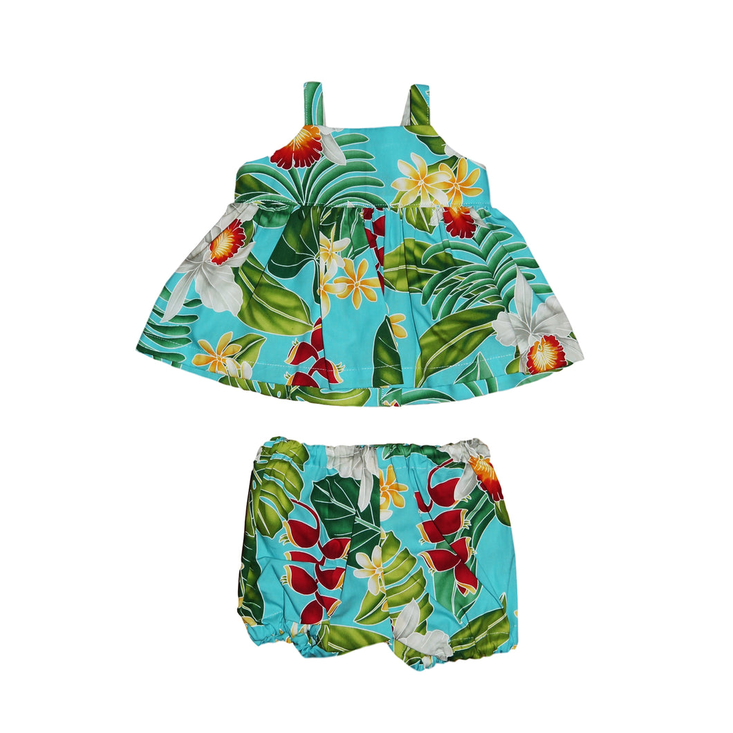 Girls Hawaiian 2pc. Set