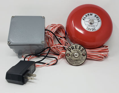 Wired Warehouse Door Bell Kits - Reliable Chimes