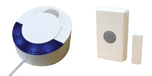 RC 16 (UT/DCR4000) Wireless Doorbell/ Magnetic Contact Set