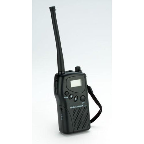 Dakota Alert M538-HT Hand held two way radio - Reliable Chimes