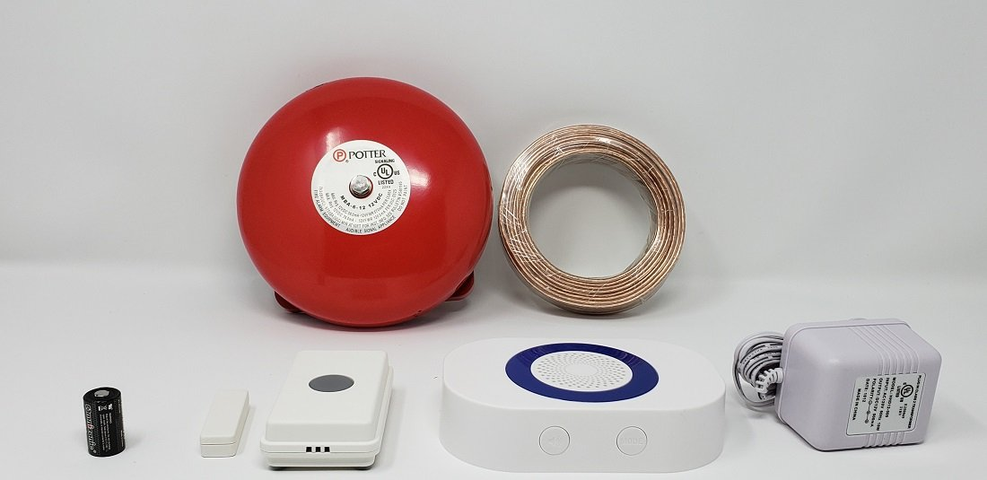 RC 16( UT/DCR 4000 ) WIRELESS WAREHOUSE DOORBELL  WITH FIREBELL
