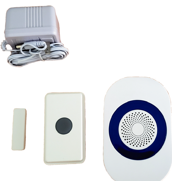 """RC 16"" (UT/DCR4000) Wireless Doorbell/ Magnetic Contact Set"