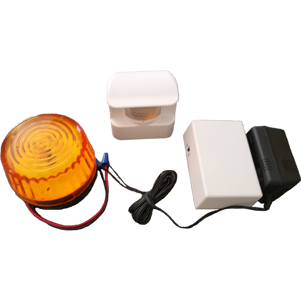 Motion activated sensor with remote strobe ( HS3605)