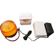 Motion activated sensor with remote strobe ( HS3605) - Reliable Chimes