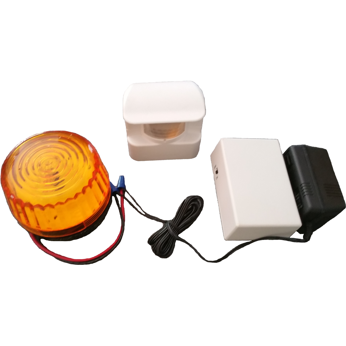 Motion activated sensor with remote strobe ( HS3605) RC 24