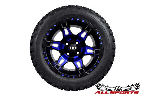 "14"" STI HD7 on 23"" Duro Desert Tires - Red or Blue"