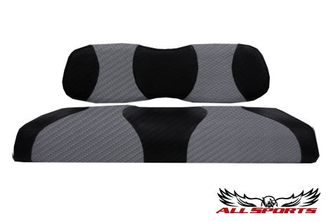 Club Car DS Front Seat Covers - Edge