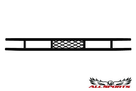 Club Car DS Mesh Rear Bumper