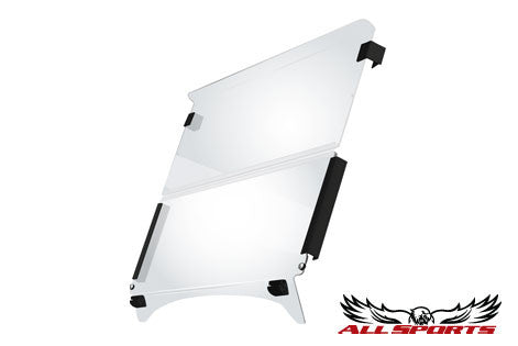 Yamaha Acrylic Flex Fold Down Windshield
