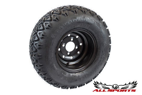 Black Steel Wheel STI ATX TRAIL