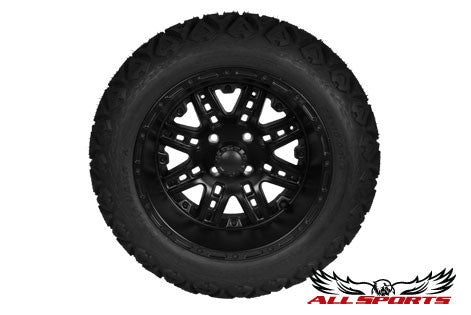 "14"" Megastar on 23"" Backlash X - Flat Black"