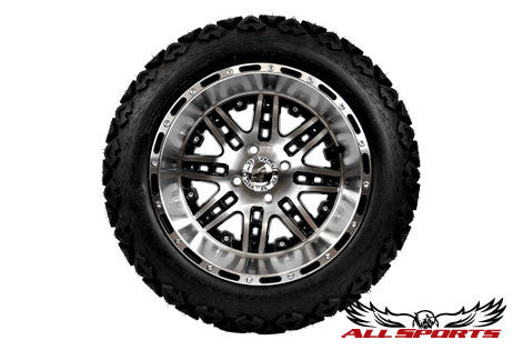"14"" Megastar with 23"" Backlash Tires - Machined"