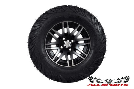 "12"" ITP SS316 on 23"" ITP Ultracross Tires - Machined"