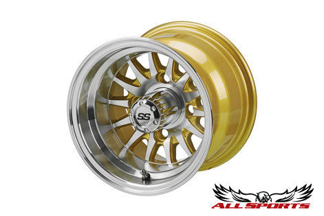 "ITP Type 5: 14-Spoke - 10"" Wheel (3 Colors)"