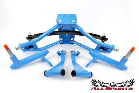 Custom Powder Coating - Light Blue