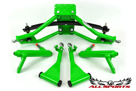 Custom Powder Coating - Racer Green