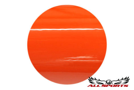 Custom Powder Coating - Orange