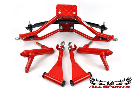 Custom Powder Coating - Red