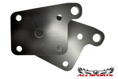 Rear 6-Hole Shock Mount Plates