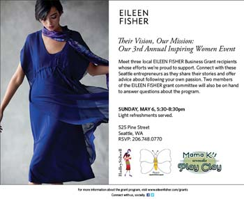 2011 winner of Eileen Fisher's grant for women entrepreneurs