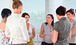 HadleyStilwell believes that business women can work together - no need to go it alone.