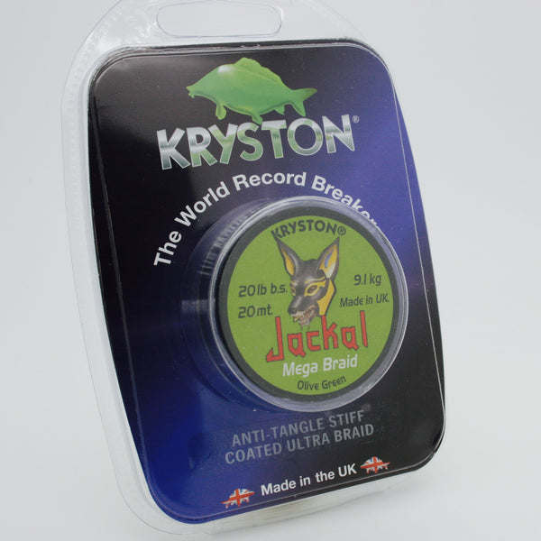 Kryston Jackal Olive Green 20m (Buy 1 Get 2nd Half Price)