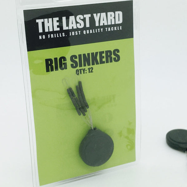 The Last Yard Small Tungsten Rig Sinkers *Free 2m Rig Tube*
