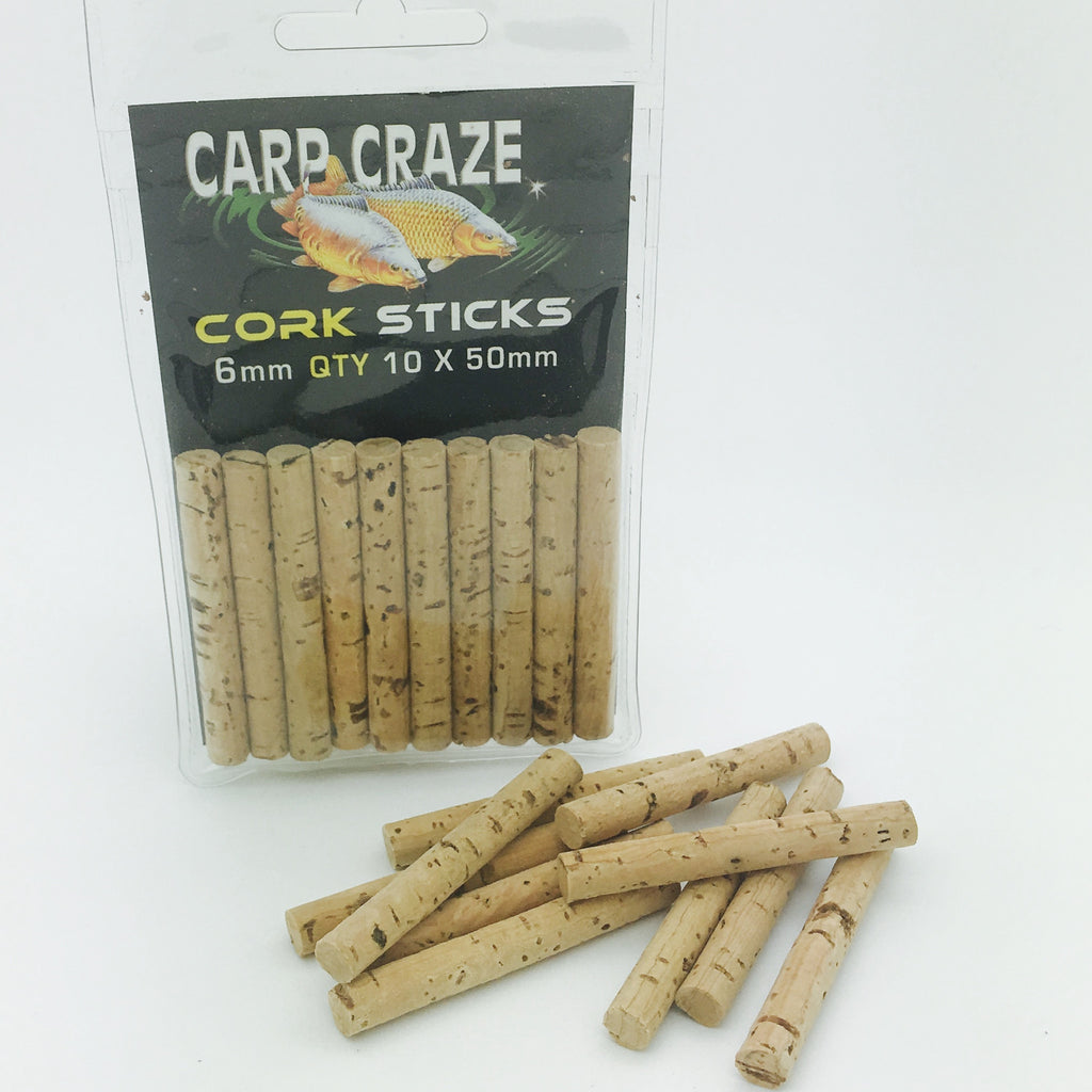 Carp Craze 6mm Cork Sticks