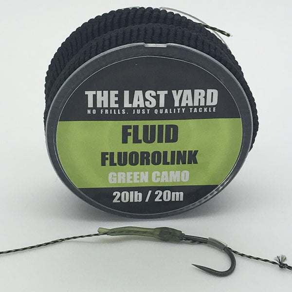 The Last Yard Camo Green Fluid Fluorolink 20lb 20m