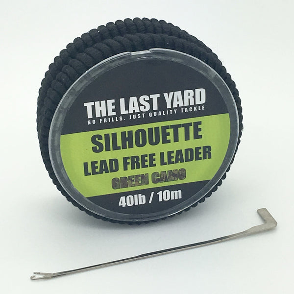 The Last Yard Silhouette Lead Free Leader Camo Green 40lb 10m