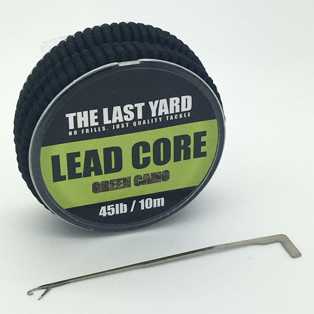 The Last Yard Camo Green Leadcore 45lb 10m