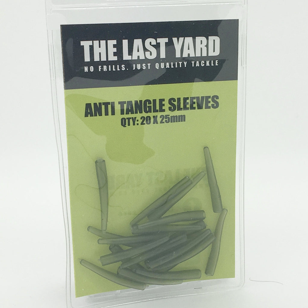 The Last Yard Camo 25mm Anti Tangle Sleeves