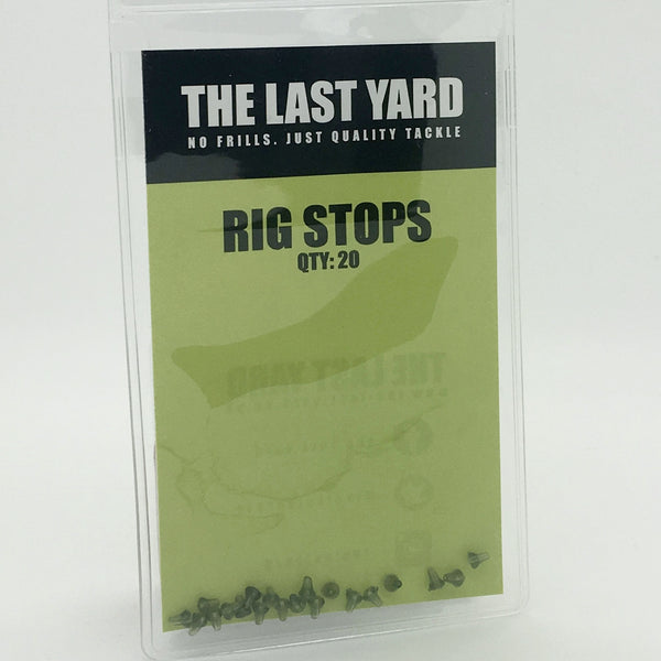 The Last Yard Rig Stops (20 per Pack) *FREE 2m Quality Rig Tube*