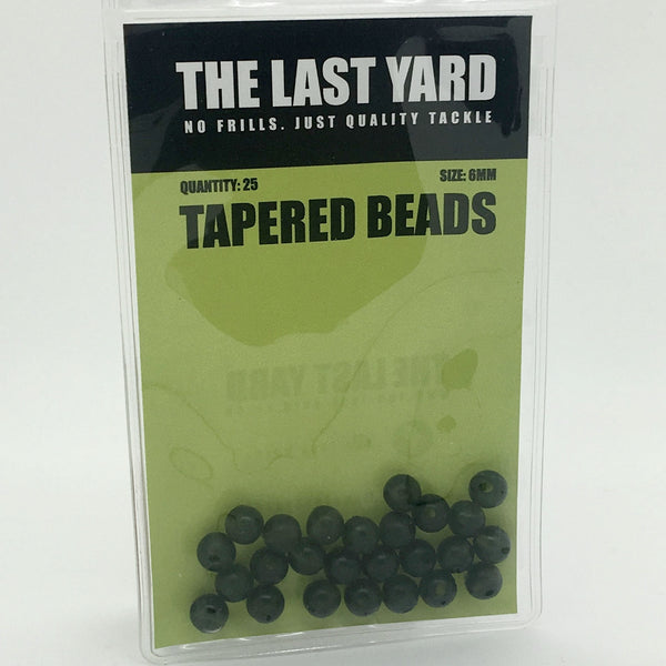 The Last Yard 6mm Tapered Beads (2 packs)