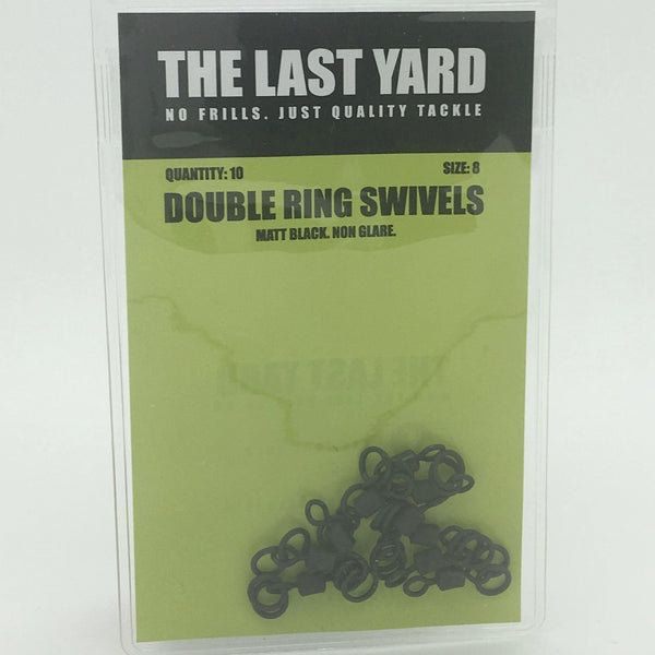The Last Yard Size 8 Double Ring Swivels