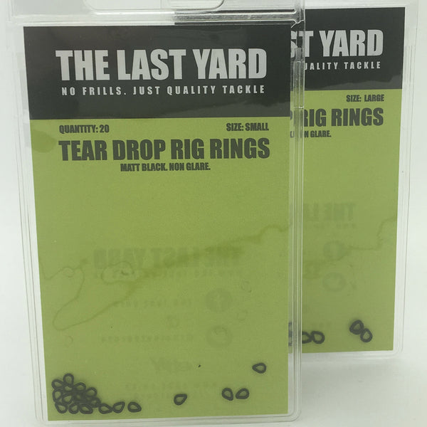 The Last Yard Tear Drop Rig Rings